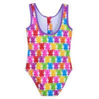 Image of Mickey and Minnie Mouse Swimsuit and Shorts Set for Girls # 6