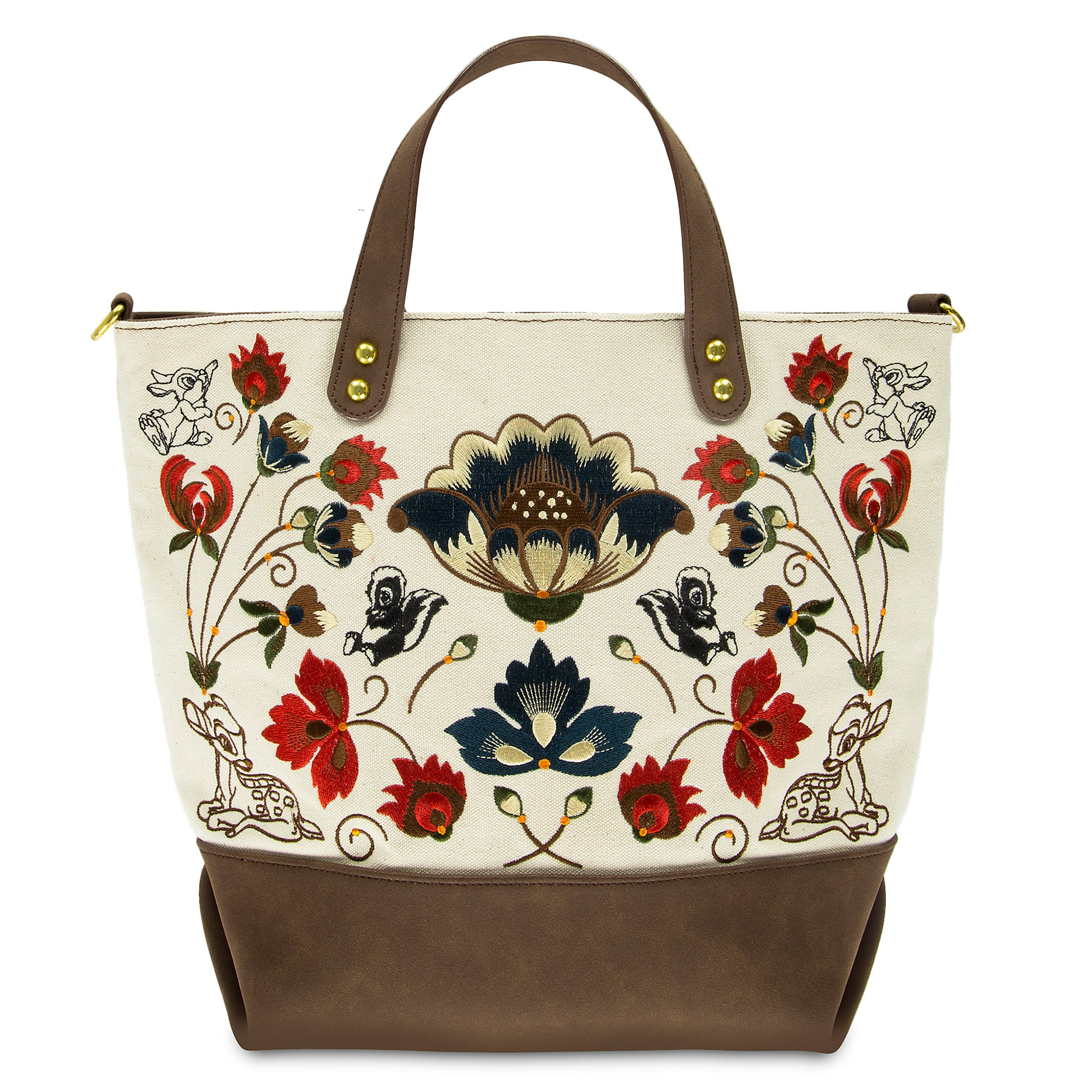 Bambi Embroidered Tote Bag by Disney Boutique