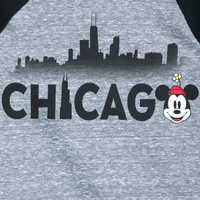 Image of Minnie Mouse Chicago Raglan Shirt for Girls # 2