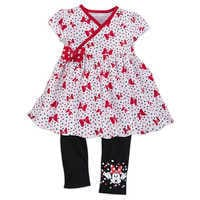 Image of Minnie Mouse Top and Leggings Set for Girls # 1