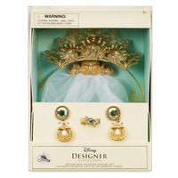 Image of Ariel Deluxe Wedding Costume Accessory Set - Disney Designer Collection # 2