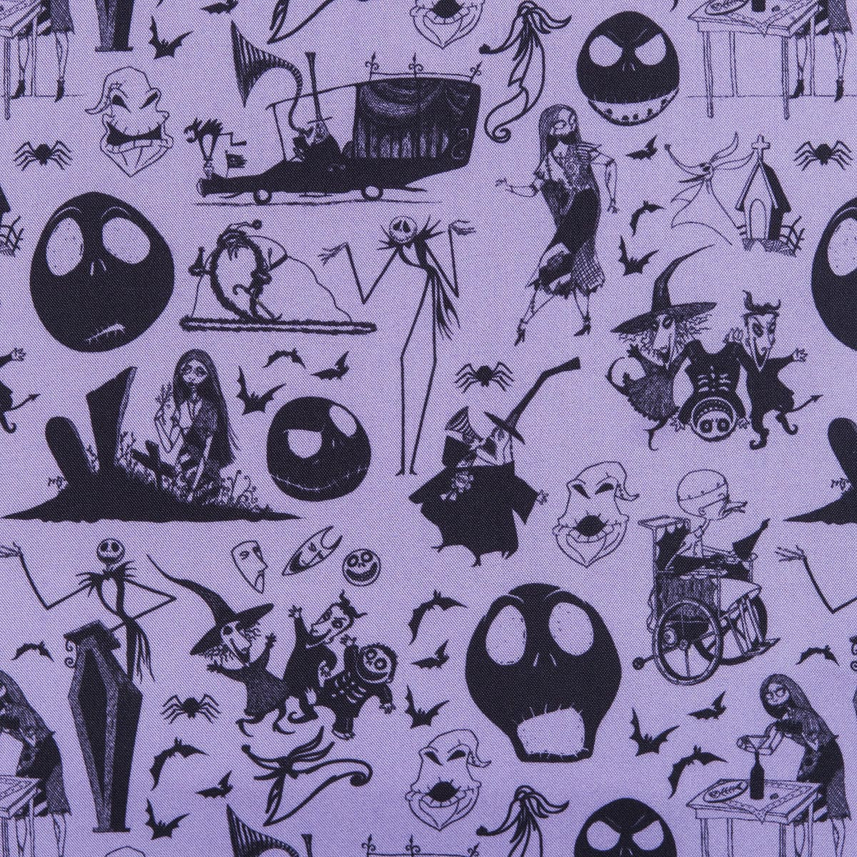 jack skellington crossbody bag by loungefly tim burtons the nightmare before christmas