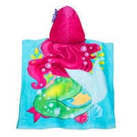 Image of Ariel and Flounder Hooded Towel for Kids # 3