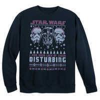 Image of Darth Vader Holiday Sweatshirt for Adults - Star Wars # 1