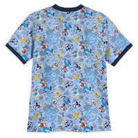 Image of Mickey Mouse and Friends Ringer T-Shirt for Kids - Disneyland 2019 # 2