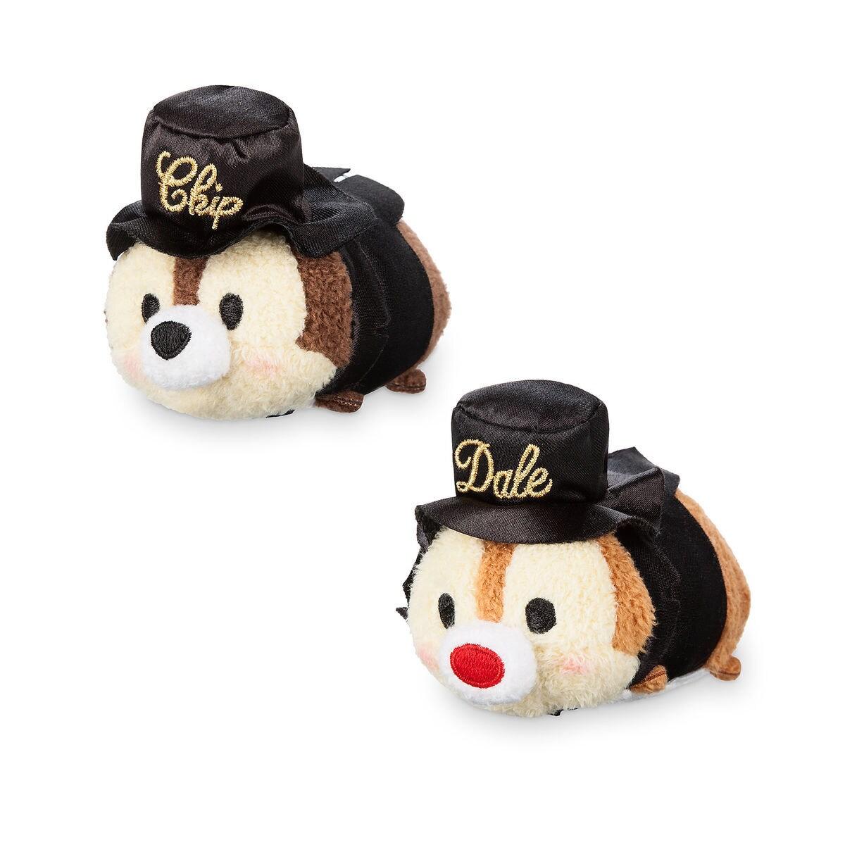 chip n dale 75th anniversary tsum tsum set mini shopdisney