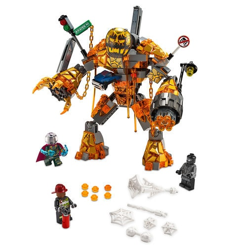 Spider Man Far From Home Molten Man Battle Play Set By
