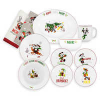 Image of Santa Mickey Mouse and Friends Holiday Tabletop Collection # 1