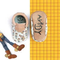 Image of Woody and Bullseye Moccasins for Baby by Freshly Picked # 3