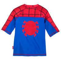 Image of Spider-Man Rash Guard for Boys # 3