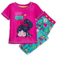 Image of Vanellope von Schweetz Pajama Set for Girls # 1