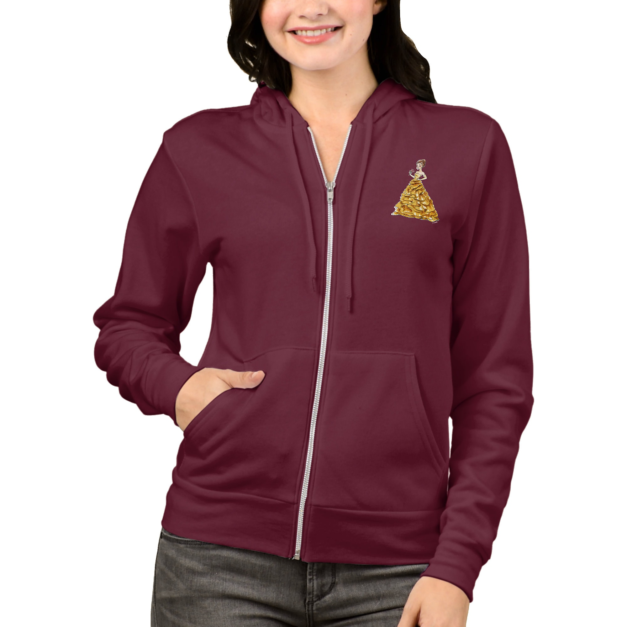 Belle Hoodie for Women - Art of Princess Designer Collection
