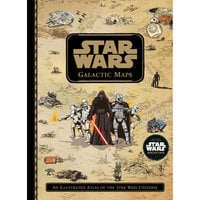 Image of Star Wars Galactic Maps Book # 1