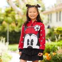 Image of Minnie Mouse Zip-Up Hoodie for Kids - Personalized # 2