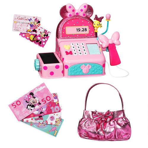 Minnie Mouse Sound Effects Cash Register Set Shopdisney