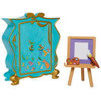 Image of Disney Animators' Collection Rapunzel's Artist Armoire Playset # 3