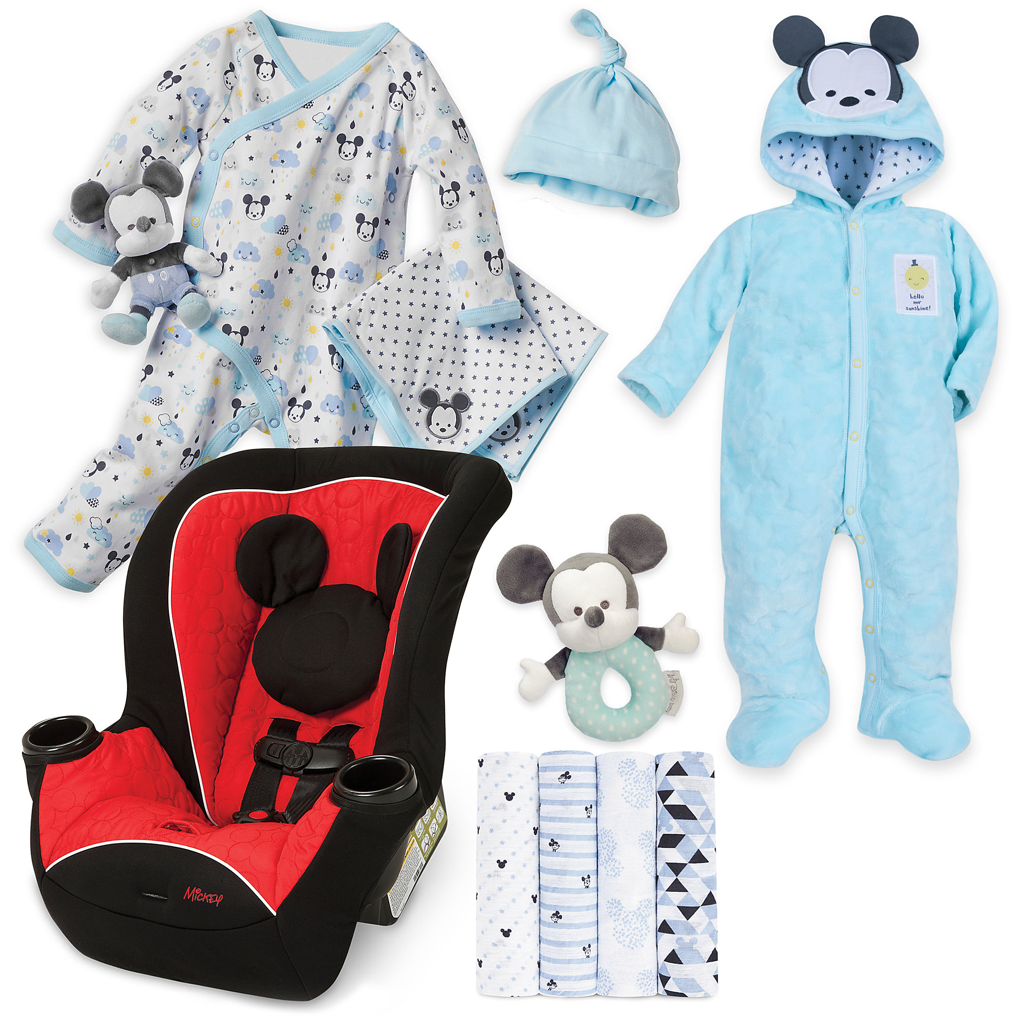 Mickey Mouse Welcome Home Gift Collection for Baby