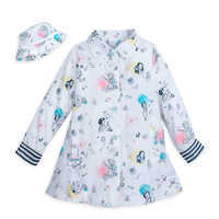 Image of Disney Animators' Collection Rain Jacket and Hat for Kids # 1