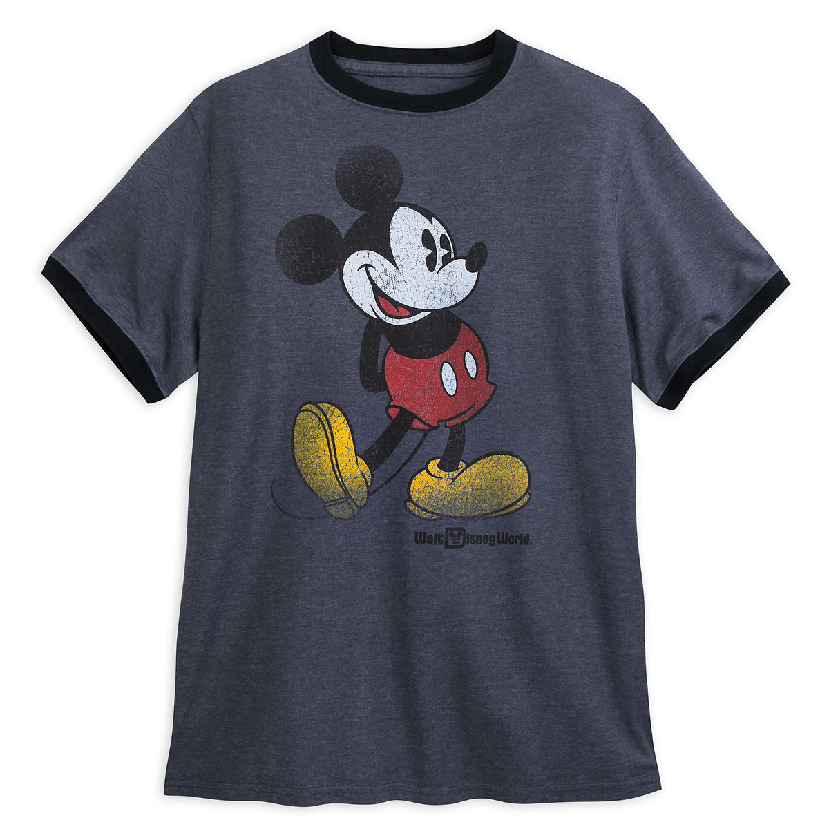 83848f9c Product Image of Mickey Mouse Classic Ringer T-Shirt for Adults - Walt Disney  World