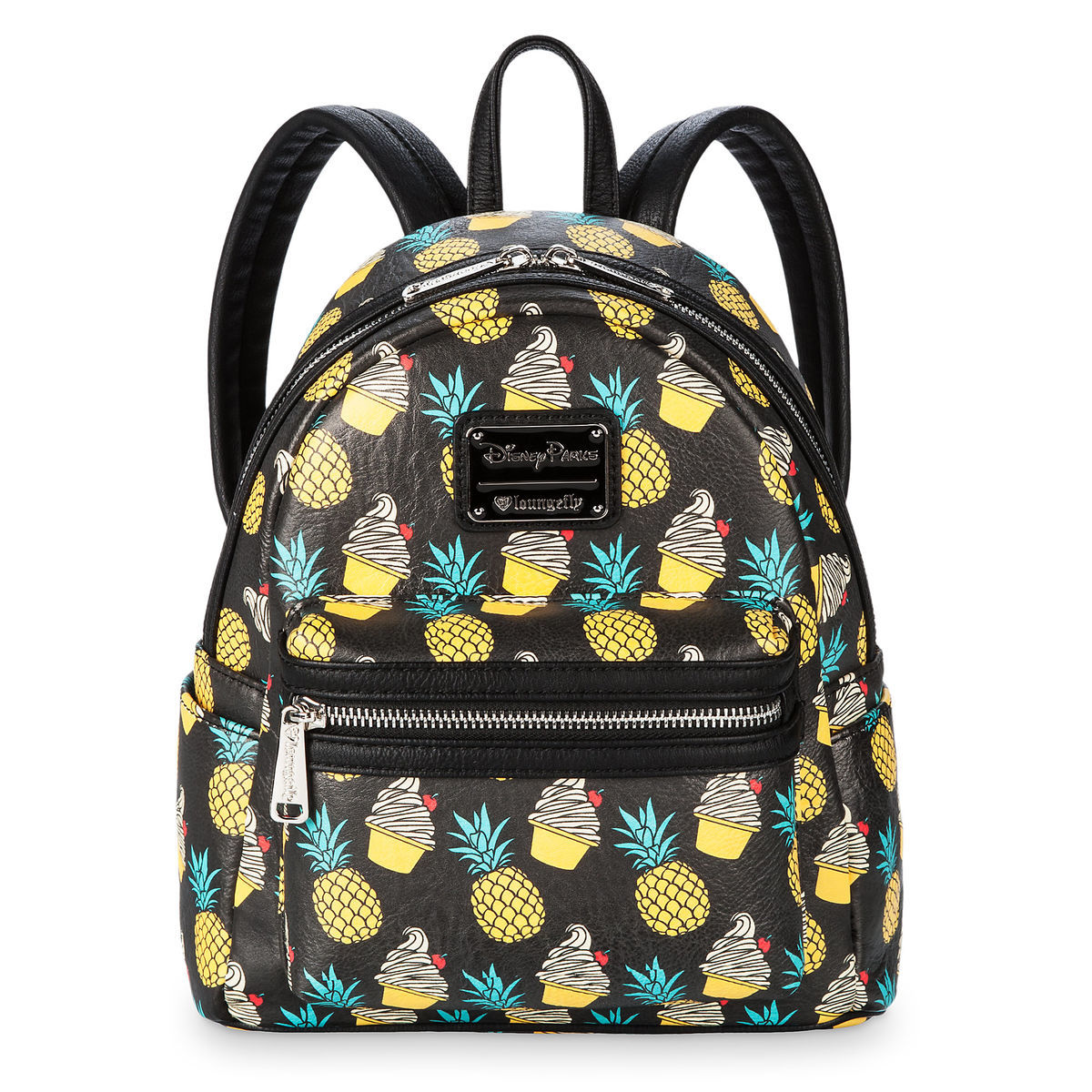 b742d09bc72 Product Image of Pineapple Swirl Mini Backpack by Loungefly   1