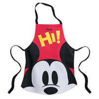 Image of Mickey Mouse Apron and Hat Set for Kids - Disney Eats - Personalizable # 2