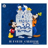 Walt Disney World 16 Month Wall Calendar 2018