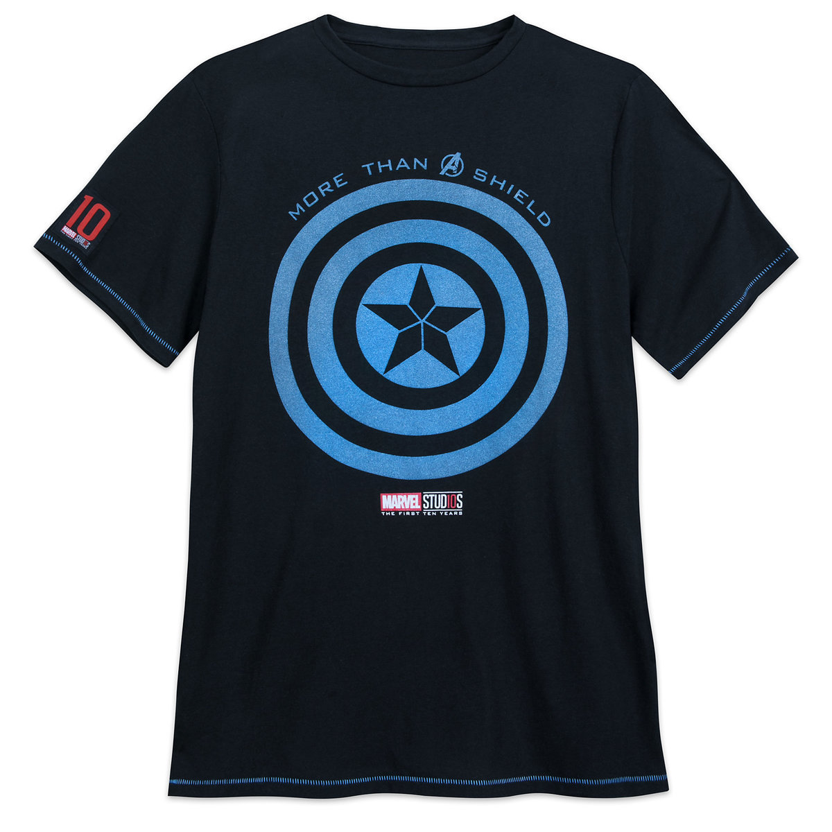58afeb6e Product Image of Captain America T-Shirt for Men - Marvel Studios 10th  Anniversary #