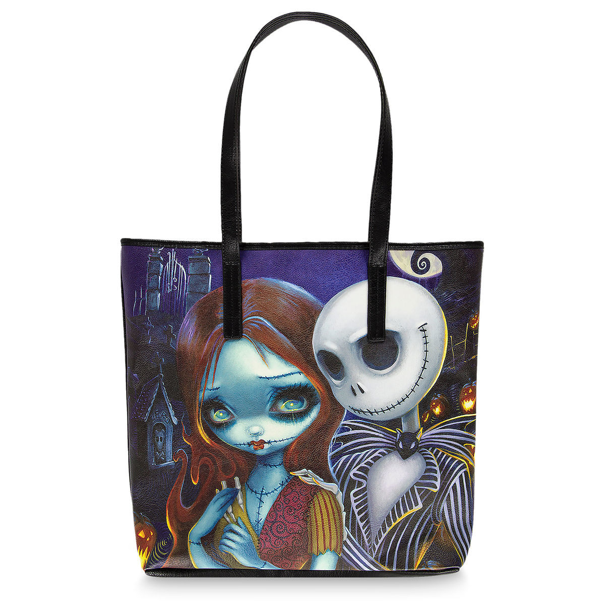 The Nightmare Before Christmas Tote by Jasmine Becket-Griffith ...
