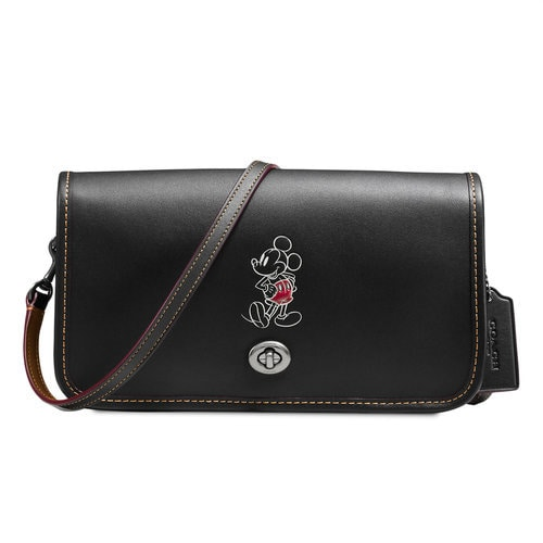 Mickey Mouse Penny Leather Crossbody Bag By Coach Shopdisney