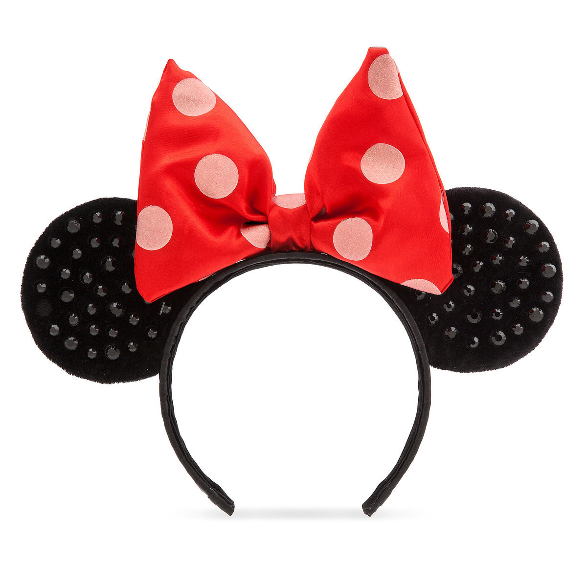 Minnie Mouse Ears Headband for Adults