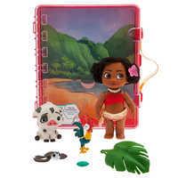 Image of Disney Animators' Collection Moana Mini Doll Playset # 2