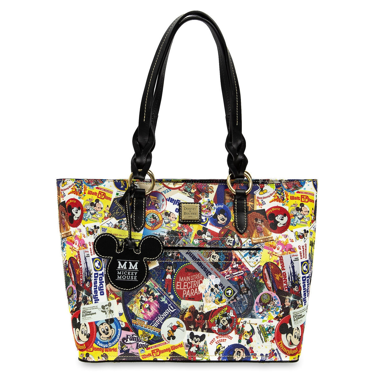 4679a8d5f74 Product Image of Mickey Mouse Tote Bag by Dooney & Bourke # 1