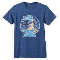 Image of Star Wars Movie Poster T-Shirt for Adults # 1