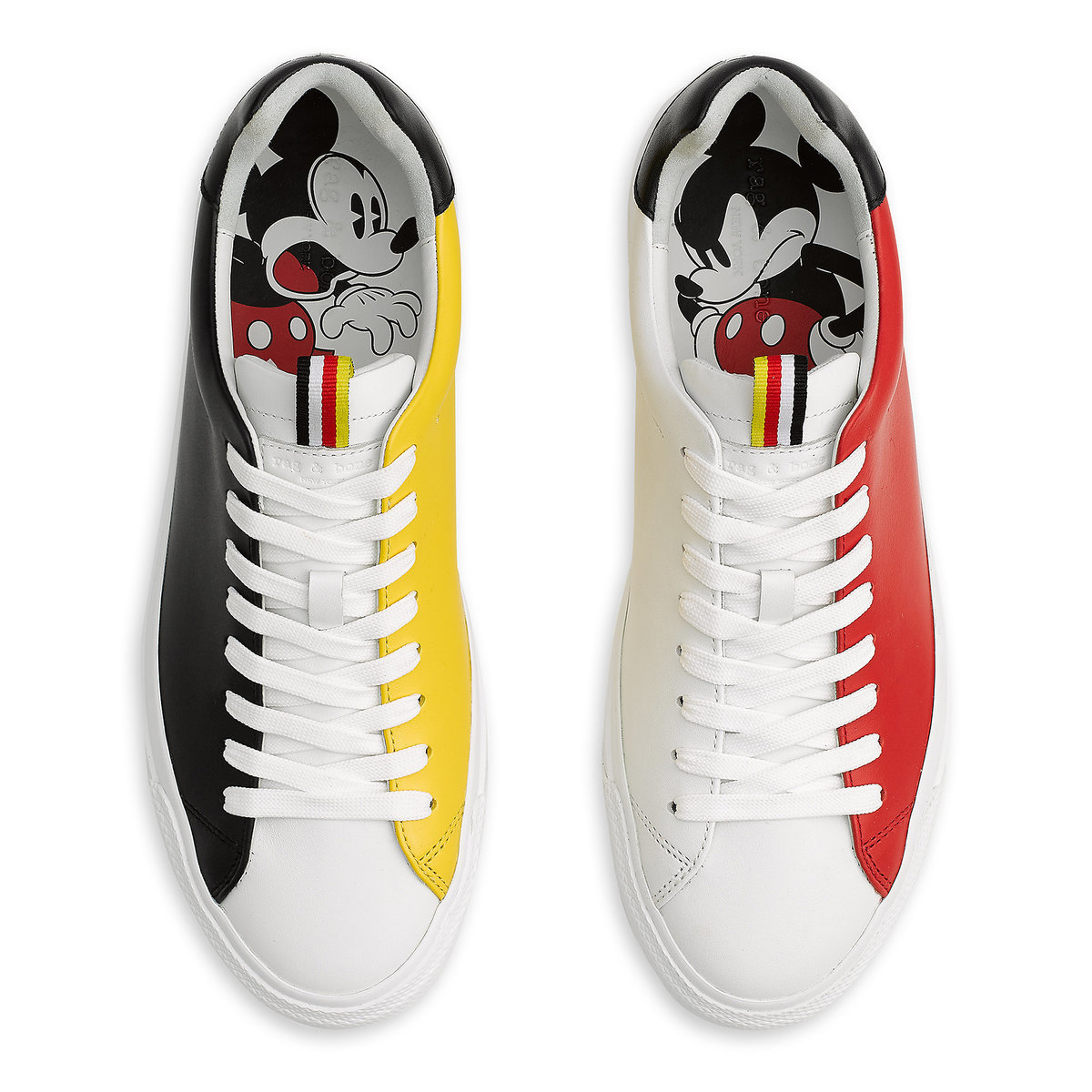 614d7c99d107 Product Image of Mickey Mouse Sneakers for Men by rag   bone   1