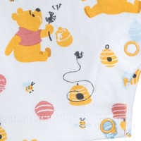 Image of Winnie the Pooh Romper and Bib Set for Baby # 6