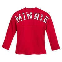 Image of Minnie Mouse Spirit Jersey for Girls - Red # 2