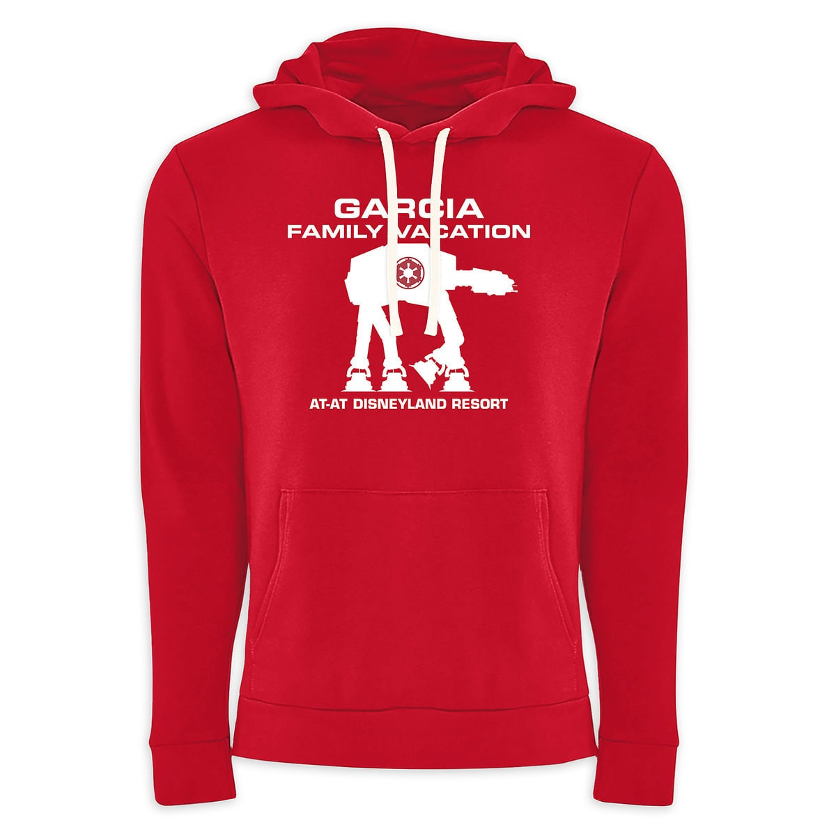 Adults' Star Wars AT-AT Family Vacation Pullover Hoodie - Disneyland -  Customized