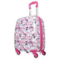 Image of Minnie Mouse Unicorn Rolling Luggage # 1