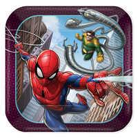 Image of Spider-Man Webbed Wonder Dessert Plates # 1
