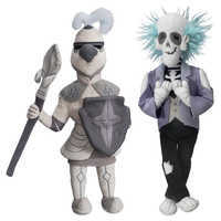 Image of Master Gracey and Knight Plush Set - The Haunted Mansion - Limited Release # 1