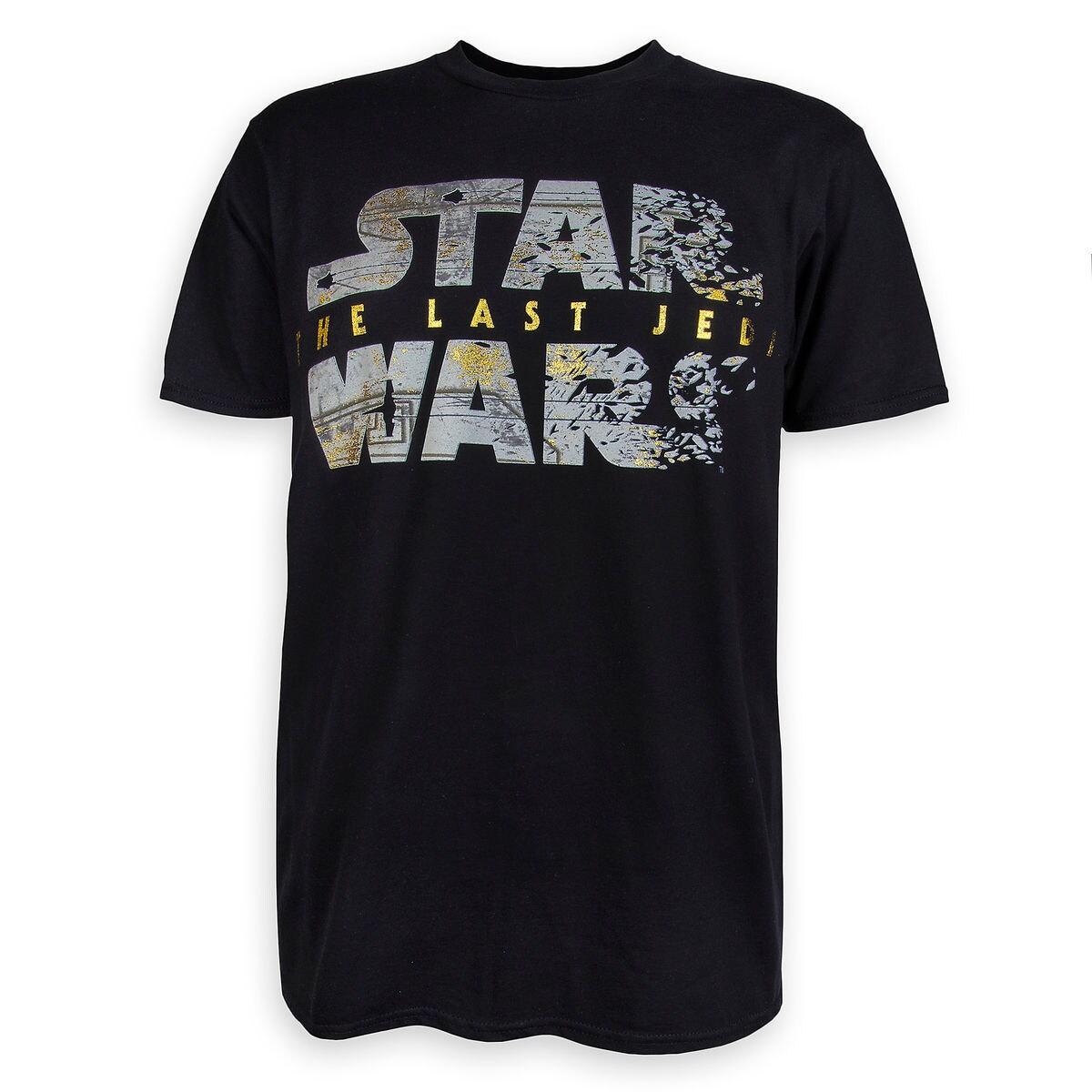 Star Wars: The Last Jedi Logo T-Shirt for Men | shopDisney