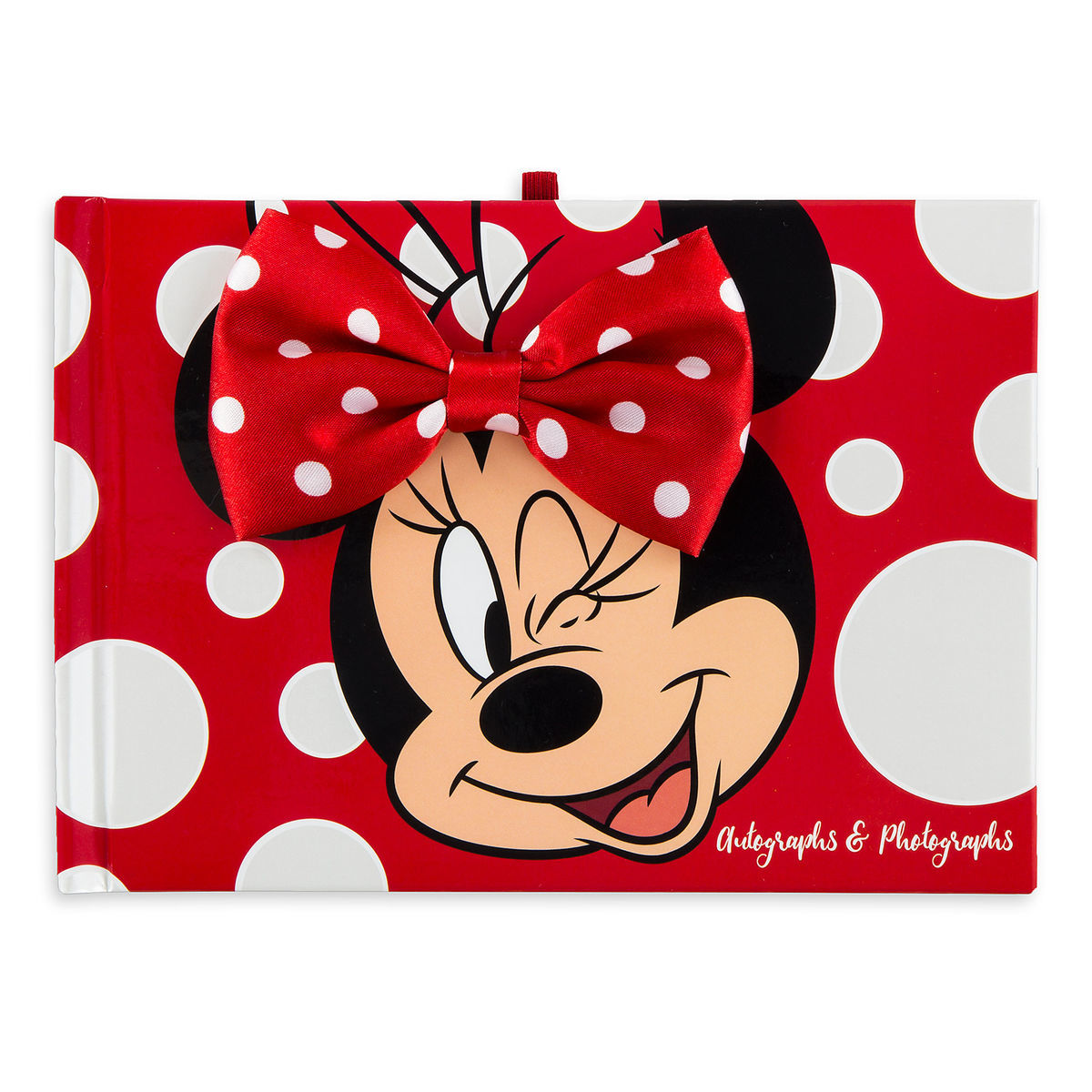 minnie mouse autograph book and photo album shopdisney