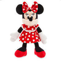 Image of Minnie Mouse ''I Love You'' Valentine Plush - Small # 2
