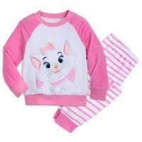 Image of Marie Fuzzy Pajama Set for Kids - The Aristocats # 1