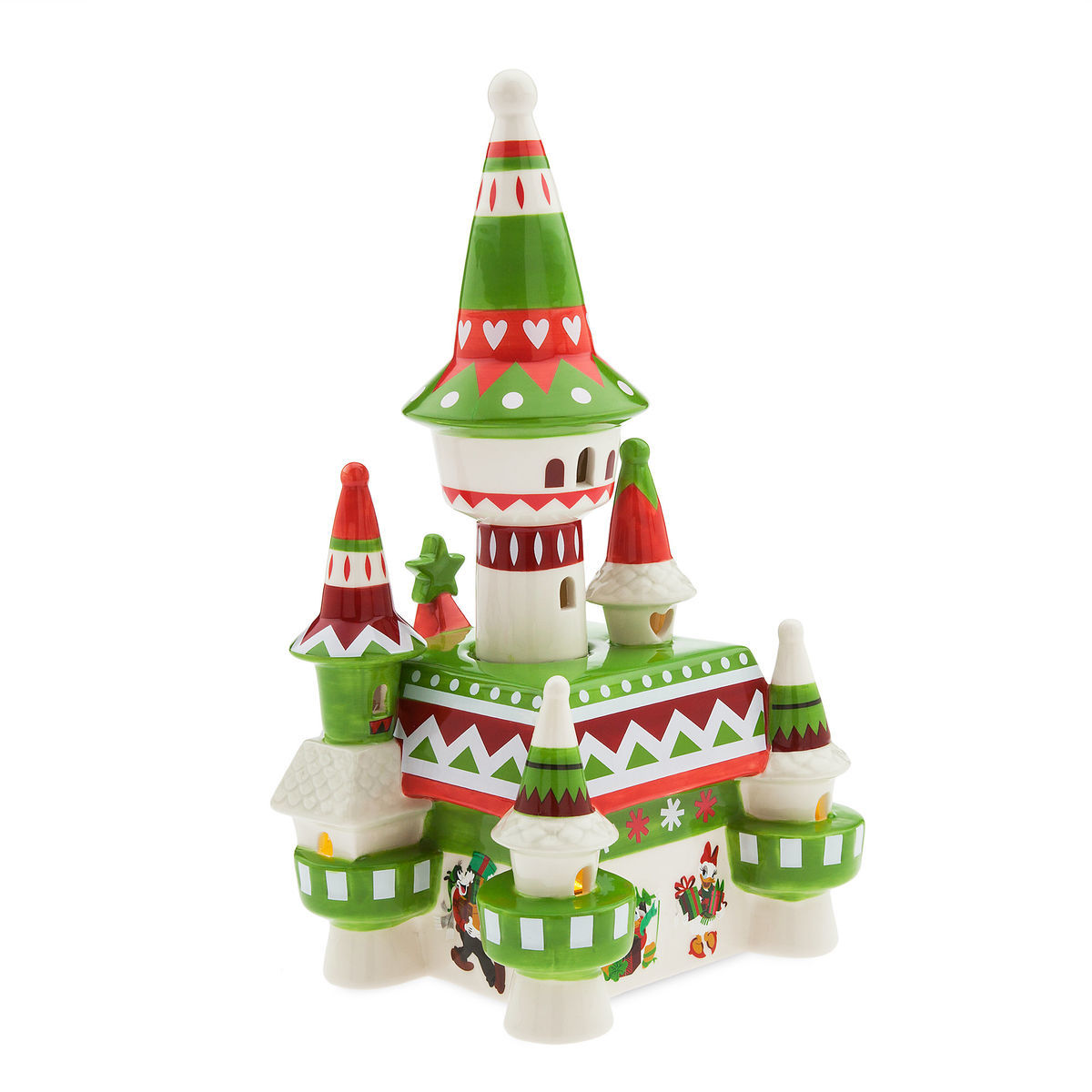 Product Image of Fantasyland Castle Nordic Winter Light-Up Figurine # 4