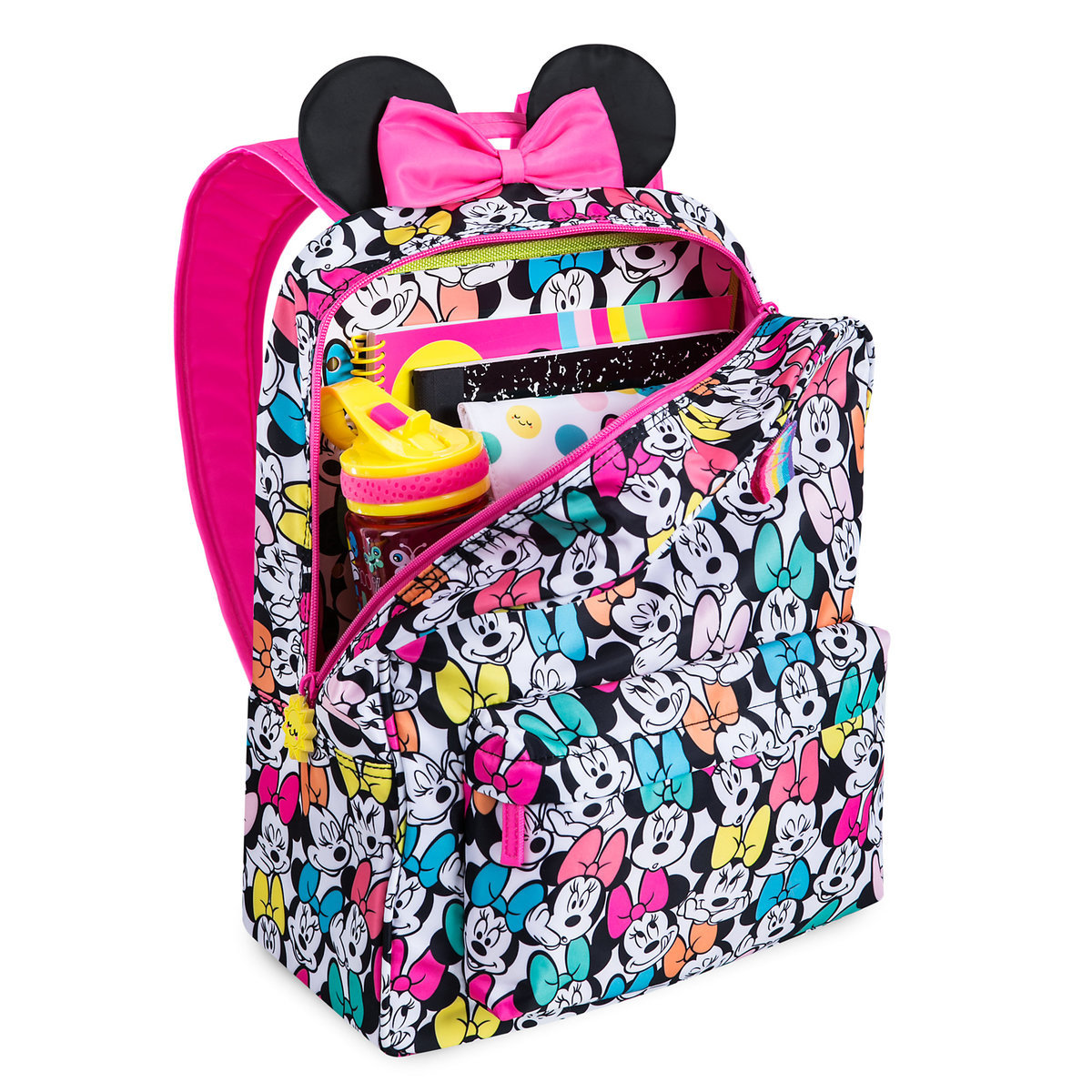 388e1ff7f2a Product Image of Minnie Mouse Rainbow Backpack - Personalizable   5