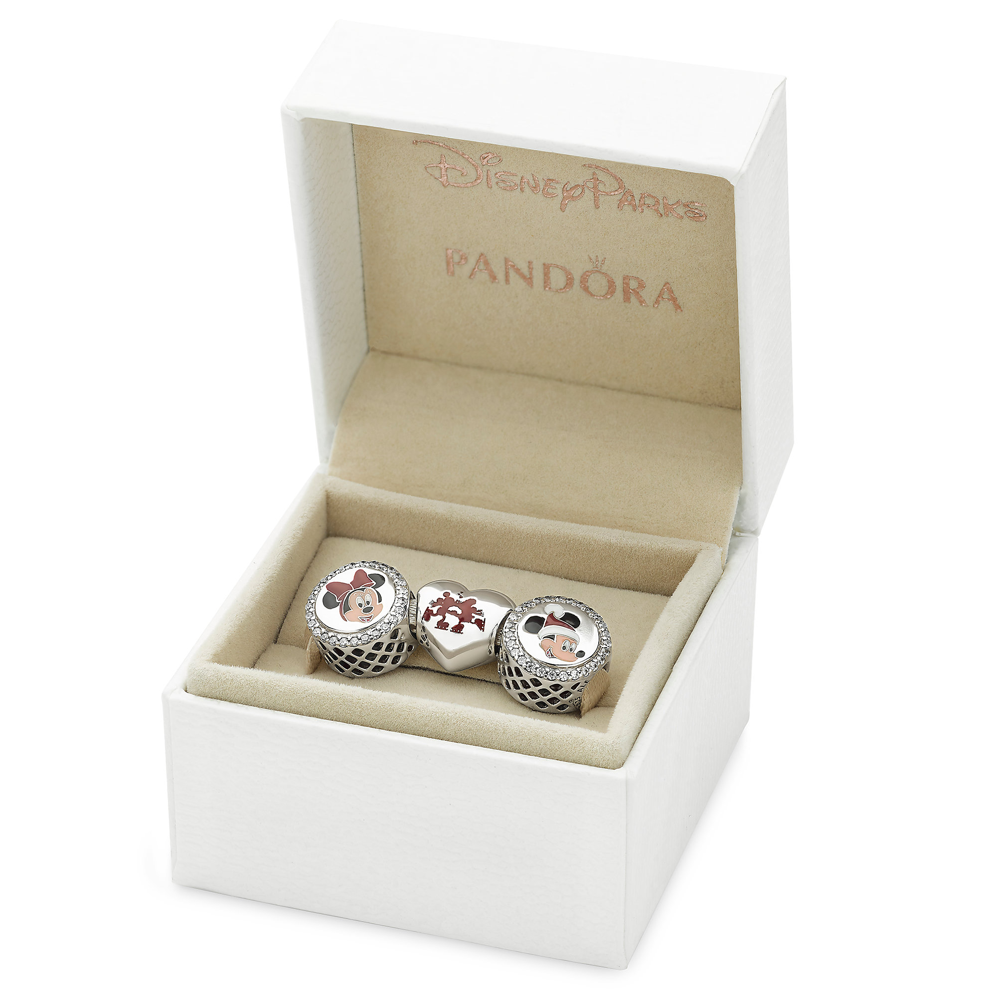 Mickey and Minnie Holiday Gift Set by PANDORA