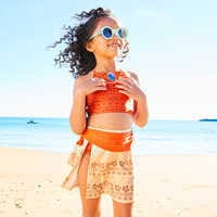 Image of Moana Deluxe Swimsuit Set for Girls # 10