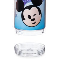 Image of Mickey Mouse and Friends Emoji Water Bottle with Stickers # 4