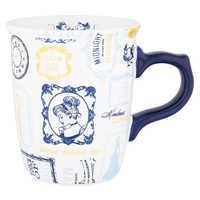 Image of Cinderella Text Pattern Mug # 1